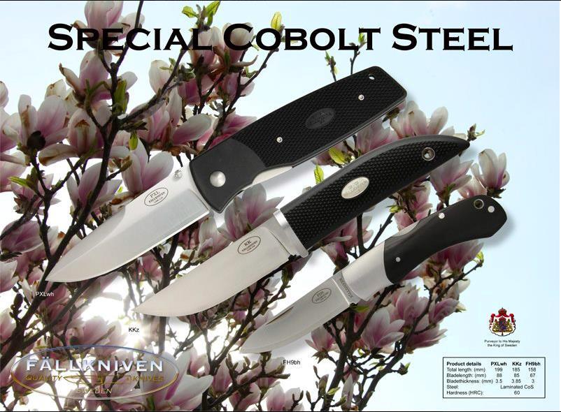 Noževi od kobaltnog čelika: PXLwh, KK (Kolt Knife) i FH9